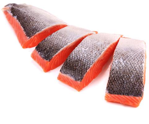 Danish salmon fillet